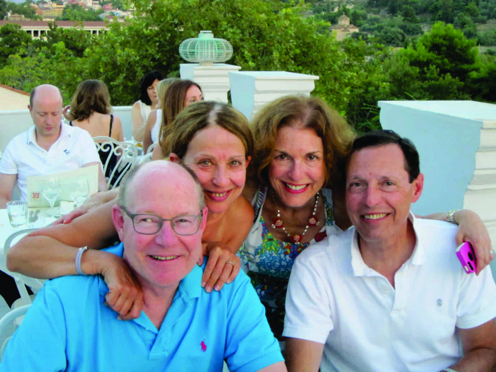 Pogash, Fleishner, Metzger Custom Greece Journey